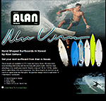 Alan Surfboards Hawaii