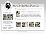 Fencing Masters Program